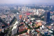 Can you see the Ben Thanh Market? Have a closer look. Check the next photo