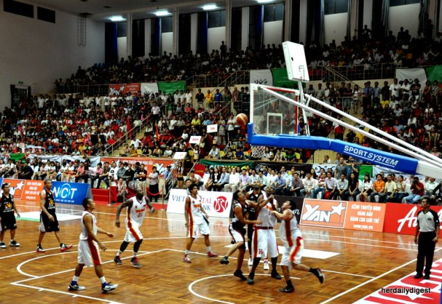 Asean Basketball League in Vietnam
